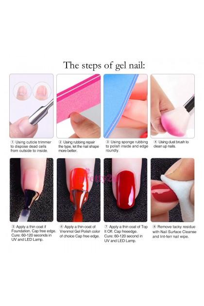 Pretty2u Pinky Red Soak Off Gel Nail Polish