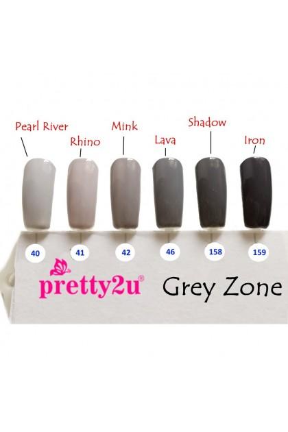 Pretty2u Grey Zone Series Soak Off Gel Polish 10ml