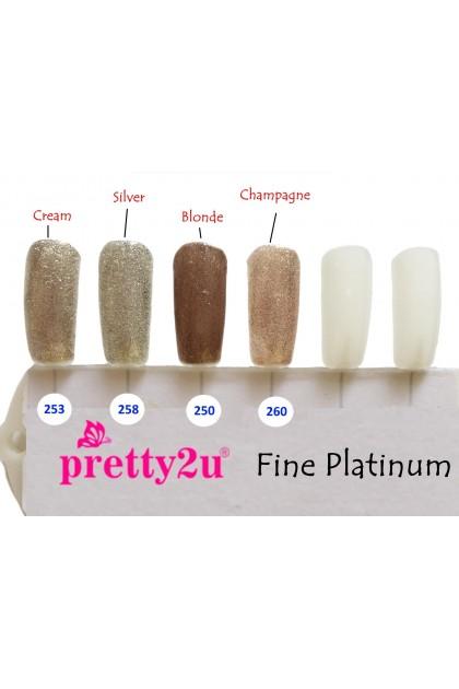Pretty2u Platinum Series Soak Off Gel Polish 10ml
