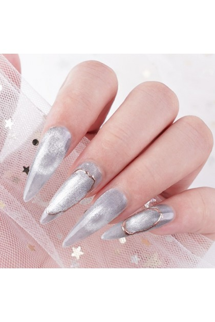Pretty2u 9D Magic Diamond Cat Eye Gel Polish With Magnet Stick
