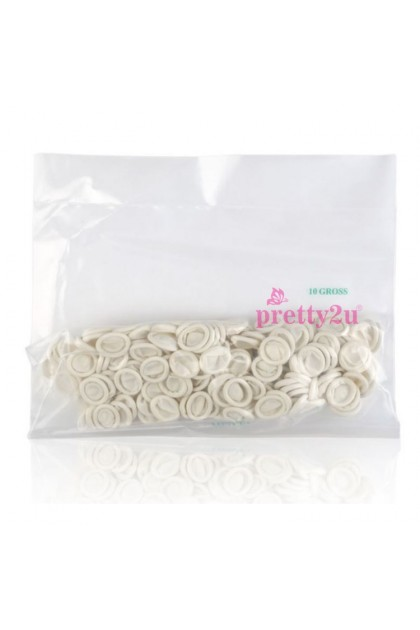 Nail Tool Disposable Nail Finger Gloves Latex Fingers Tips Protective Cover Glove Protector Cots 260PCS 美甲用品 一次性手指套