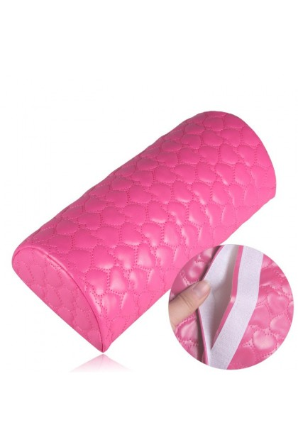 Pretty2u Love Design Half Round High Quality Soft Hand Pillow 美甲手枕