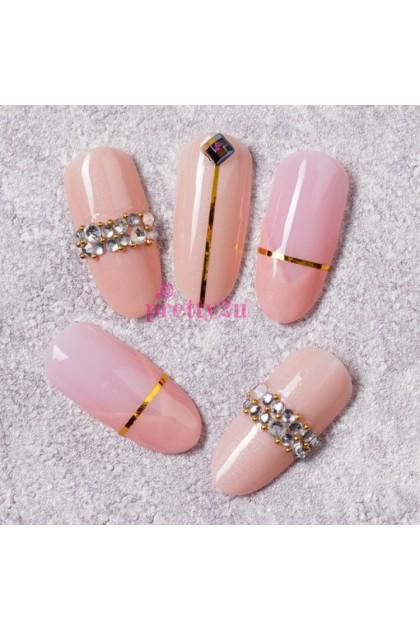 Nail Accessories Nail Art Multi Shape Rhinestones Shining Nail Design Set 美甲饰品 圆盘混钻饰品套装
