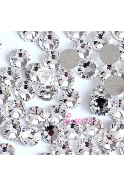 Pretty2u Super Shining SS Rhinestones SS12 Crystal (3mm) per pack