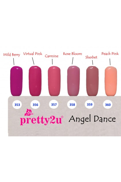 Pretty2u Angel Dance Series Soak Off Gel Polish 10ml