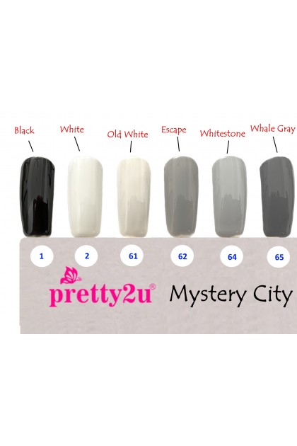 Pretty2u Mystery City Series Soak Off Gel Polish 10ml